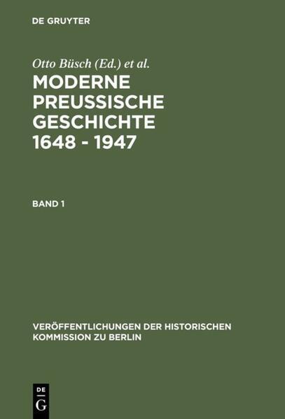 Moderne Preussische Geschichte 1648 - 1947 als Buch