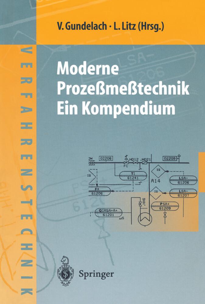 Moderne Prozeßmeßtechnik. Ein Kompendium als Bu...