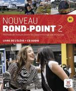 Nouveau Rond-Point 2. Livre de l'élève + CD audio (B1)