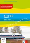 Konetschno! dvizhenii. Arbeitsheft mit Audio-CD und virtueller Vokabelkartei zum Download (Band 5 zum Lehrwerk Konetschno! auch im 3. Lernjahr bei Russisch als 3. Fremdsprache zum Lehrwerk Konetschno! Intensivnyj kurs einsetzbar)