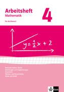 Arbeitshefte Mathematik 4. Neubearbeitung. Arbeitsheft plus Lösungsheft. Rationale Zahlen, Terme, Gleichungen und Ungleichungen, Geometrie, Flächen-und Rauminhalte, Daten und Zufall