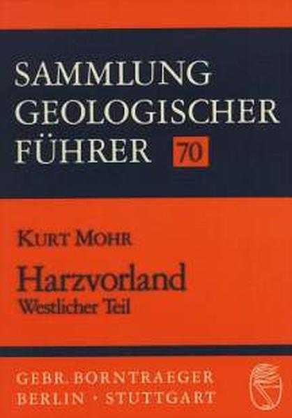 Harzvorland. Westlicher Teil als Buch