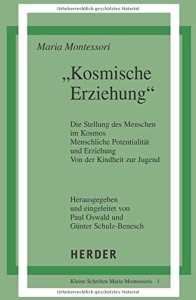 ' Kosmische Erziehung.' als Buch