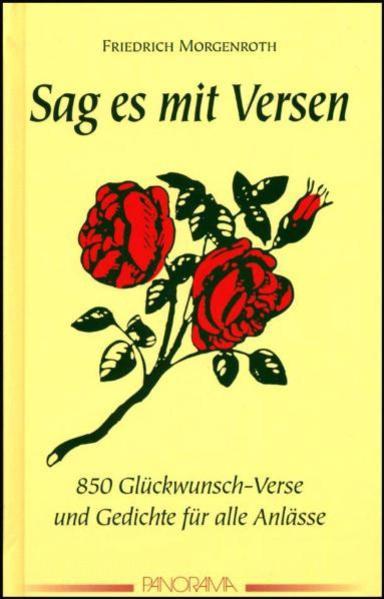 Sag es mit Versen als Buch