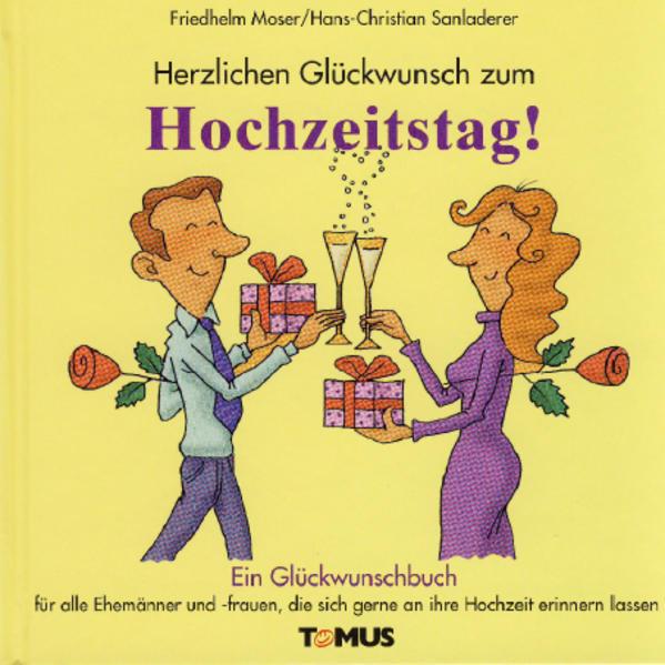 Herzlichen Glückwunsch zum Hochzeitstag als Buch