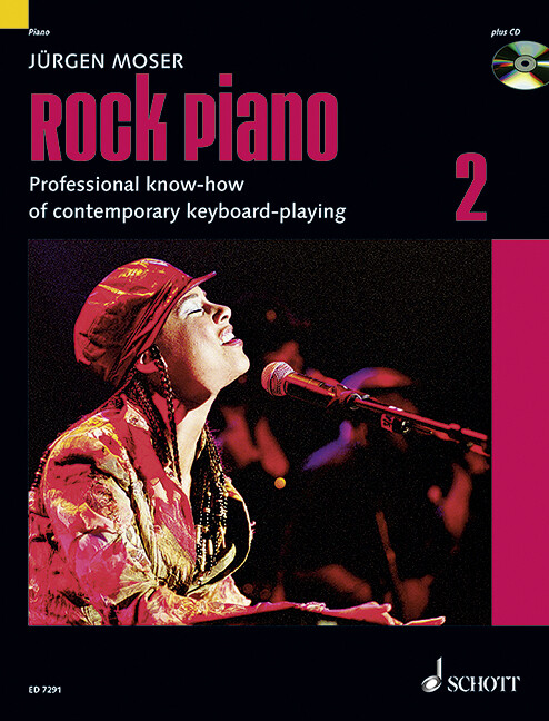 Rock Piano 2. Inkl. CD als Buch