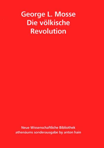Die völkische Revolution als Buch