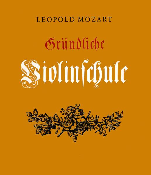 Gründliche Violinschule als Buch
