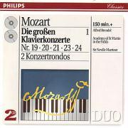 Klavierkonzerte 19-21,23-24/+ als CD