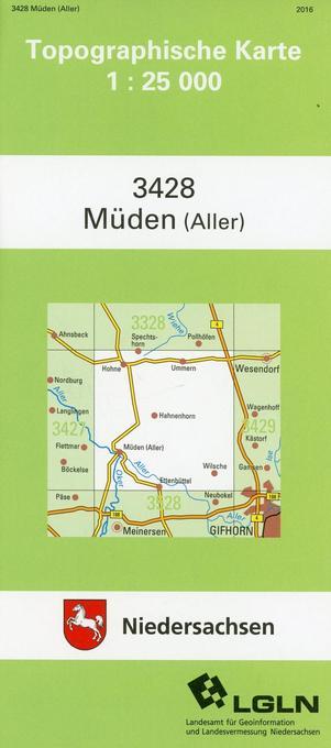 Müden (Aller) 1 : 25 000 als Buch
