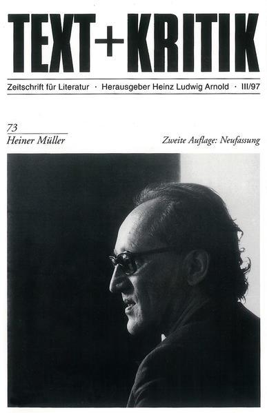 Heiner Müller als Buch