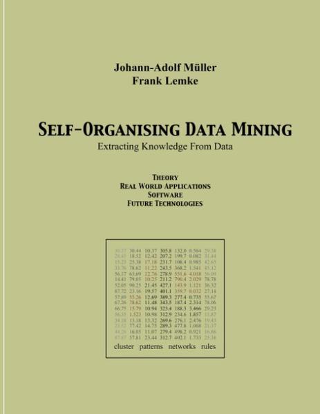 Self Organising Data Minig als Buch (gebunden)