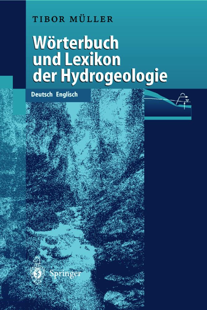 Wörterbuch und Lexikon der Hydrogeologie als Buch