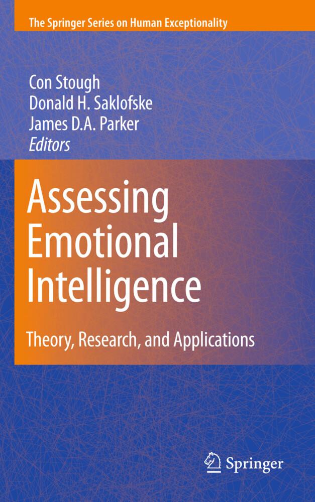 Assessing Emotional Intelligence als Buch von