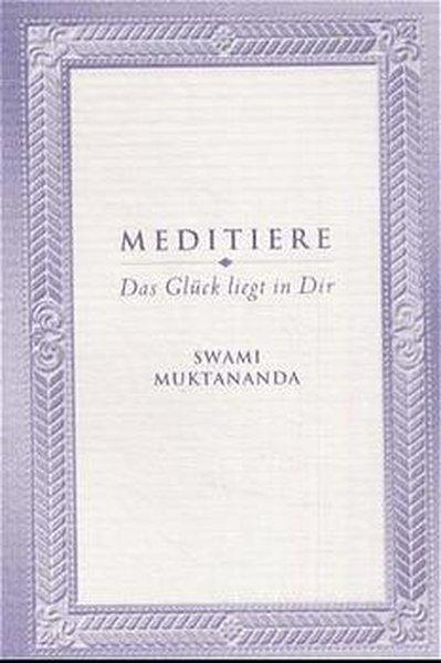 Meditiere als Buch