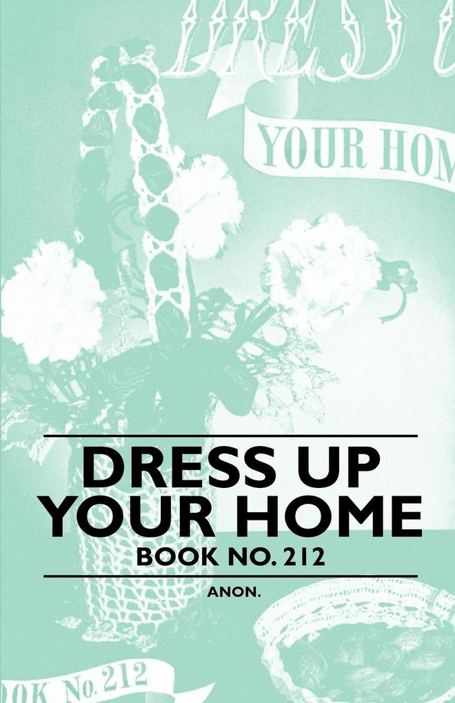 Dress Up Your Home - Book No. 212 als Taschenbu...