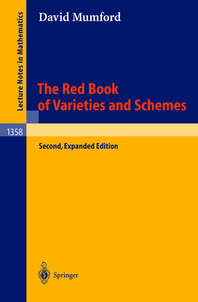 The Red Book of Varieties and Schemes als Buch