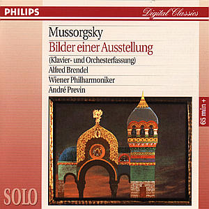Bilder einer Ausstellung. Klassik-CD als CD
