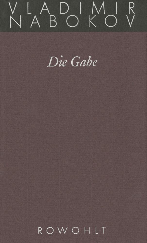Gesammelte Werke 05. Die Gabe als Buch
