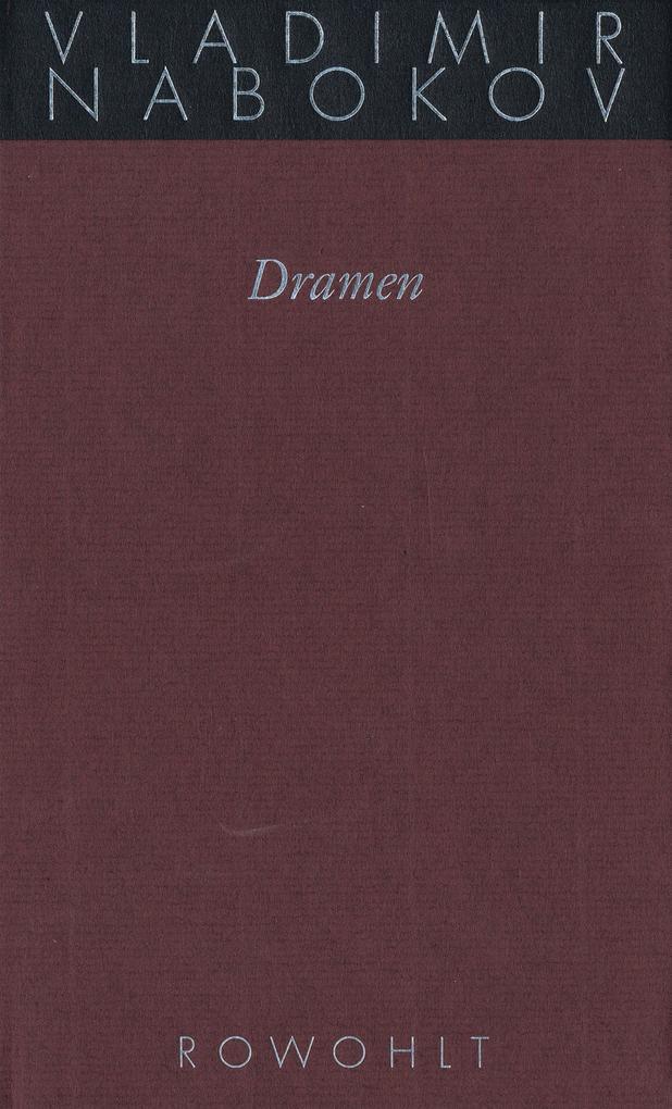 Gesammelte Werke, 15.1. Dramen als Buch