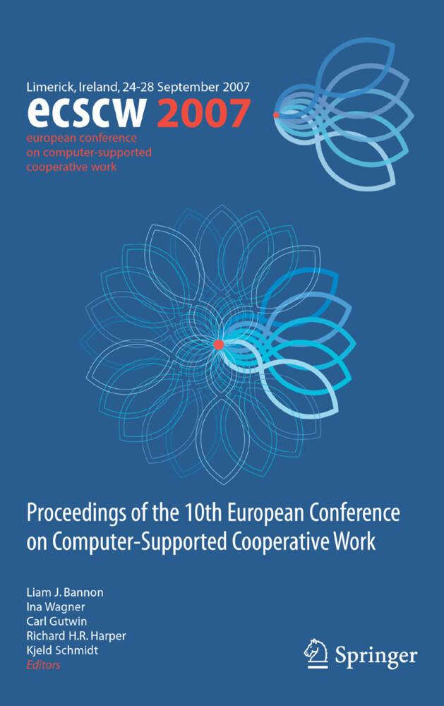 ECSCW 2007 als Buch von