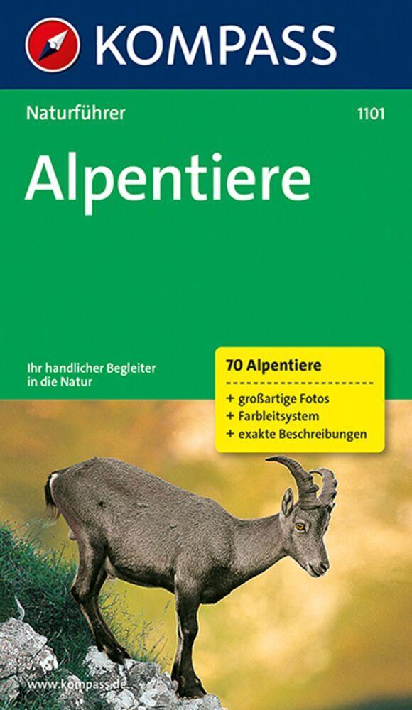 Naturführer Alpentiere als Buch