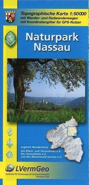 Naturpark Nassau 1 : 50 000 als Buch
