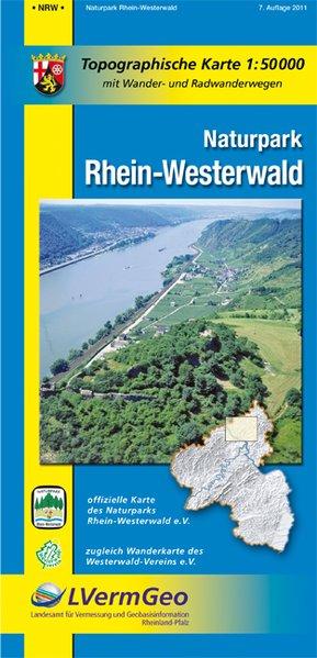 Naturpark Rhein-Westerwald 1 : 50 000 als Buch