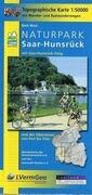 Naturpark Saar-Hunsrück Blatt West und Ost 1 : 50 000