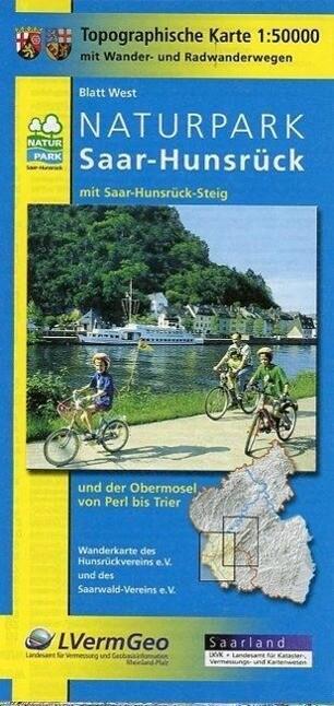 Naturpark Saar-Hunsrück Blatt West und Ost 1 : ...