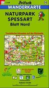 Naturpark Spessart Blatt Nord 1 : 50 000. Fritsch Wanderkarte