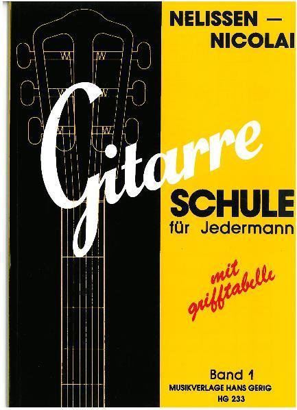 Gitarren-Schule für Jedermann 1 als Buch