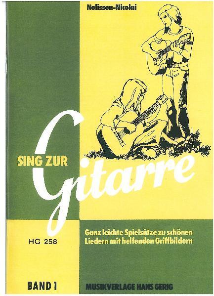 Sing zur Gitarre, Band 1 als Buch