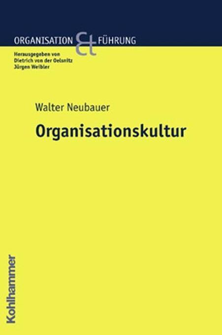 Organisationskultur als Buch