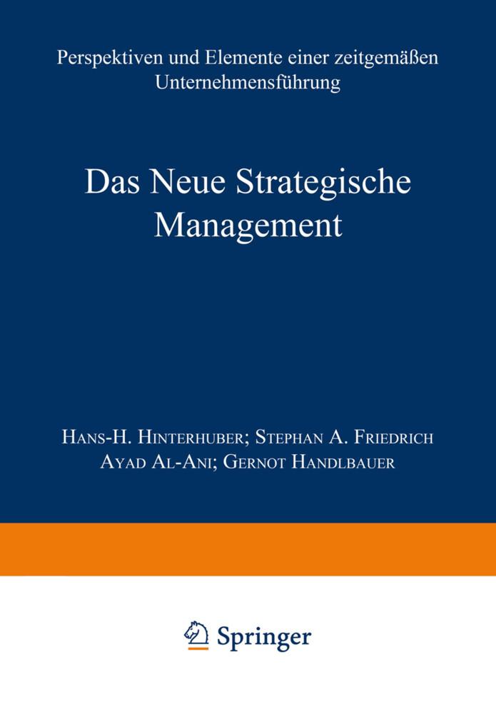 Das Neue Strategische Management als Buch