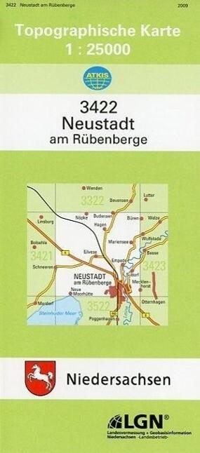 Neustadt am Rübenberge 1 : 25 000. (TK 3422/N) als Buch
