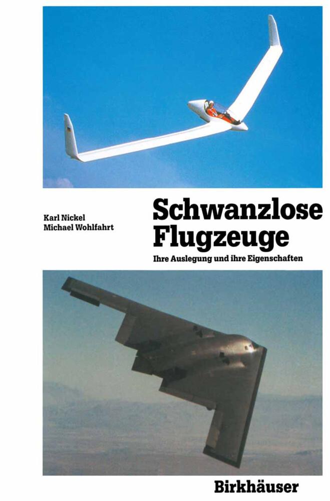 Schwanzlose Flugzeuge als Buch