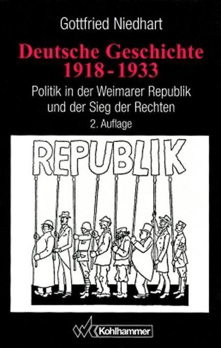 Deutsche Geschichte 1918 - 1933 als Buch