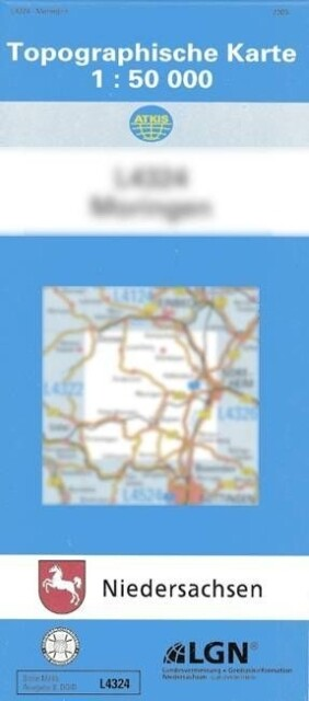 Nienburg (Weser) 1 : 50 000. (TK 3320/N) als Buch