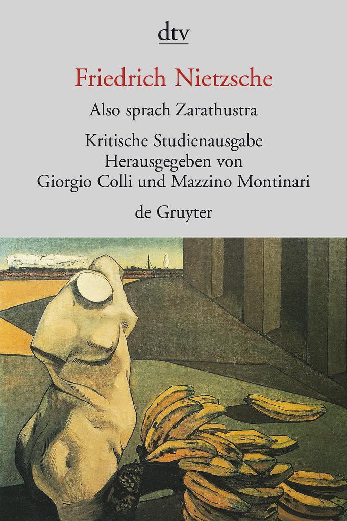 Also sprach Zarathustra I - IV als Taschenbuch