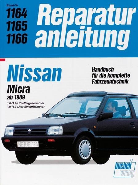 Nissan Micra (ab 1989) als Buch (kartoniert)