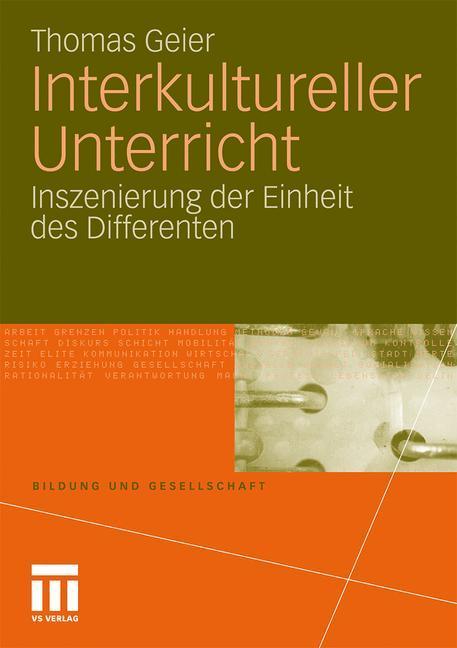 Interkultureller Unterricht als Buch von Thomas...