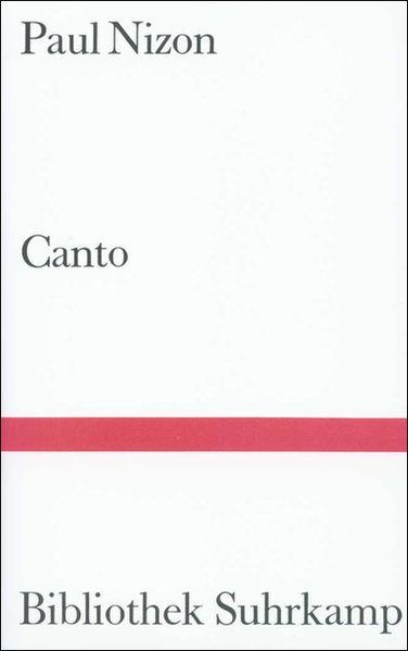 Canto als Buch