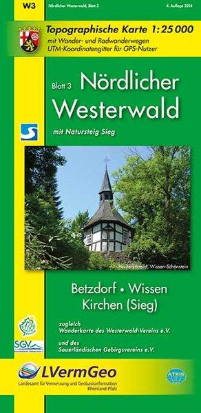 Nördlicher Westerwald 3. Wanderkarte 1 : 25 000 als Buch