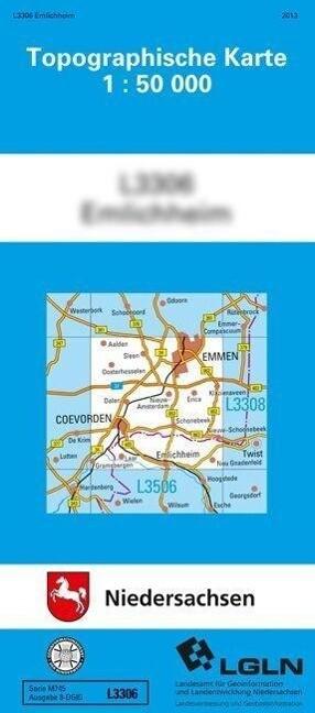 Nordhorn 1 : 50 000. (TK 3508/N) als Buch