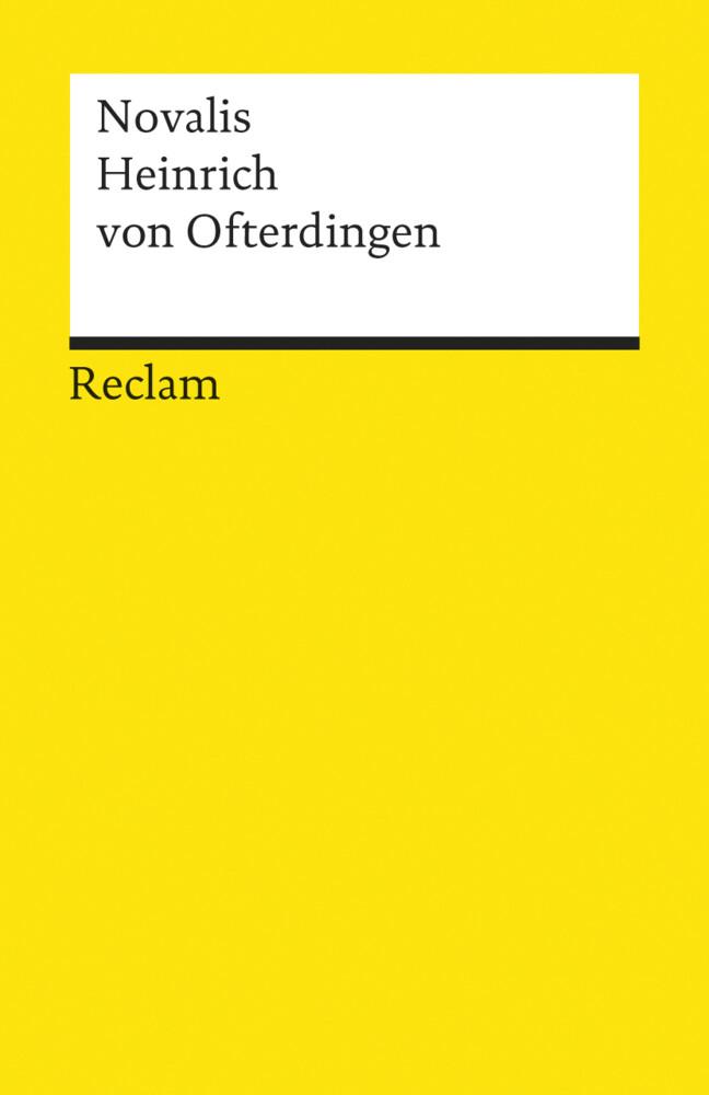 Heinrich von Ofterdingen als Taschenbuch