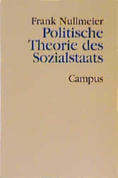 Politische Theorie des Sozialstaats als Buch