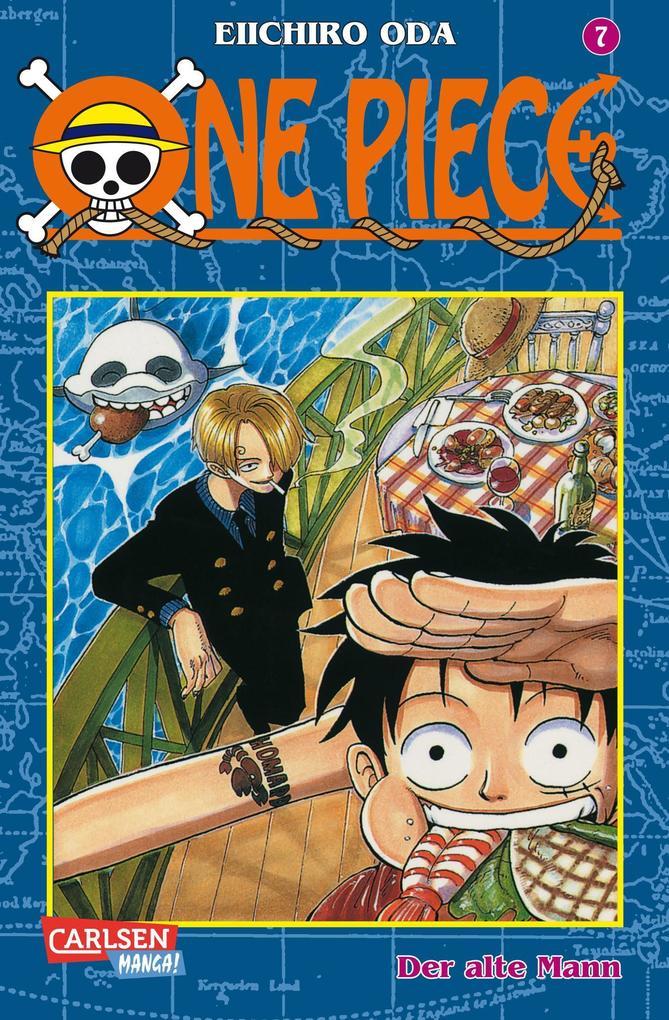One Piece 07. Der alte Mann als Buch