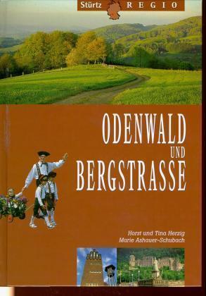 Odenwald und Bergstrasse als Buch