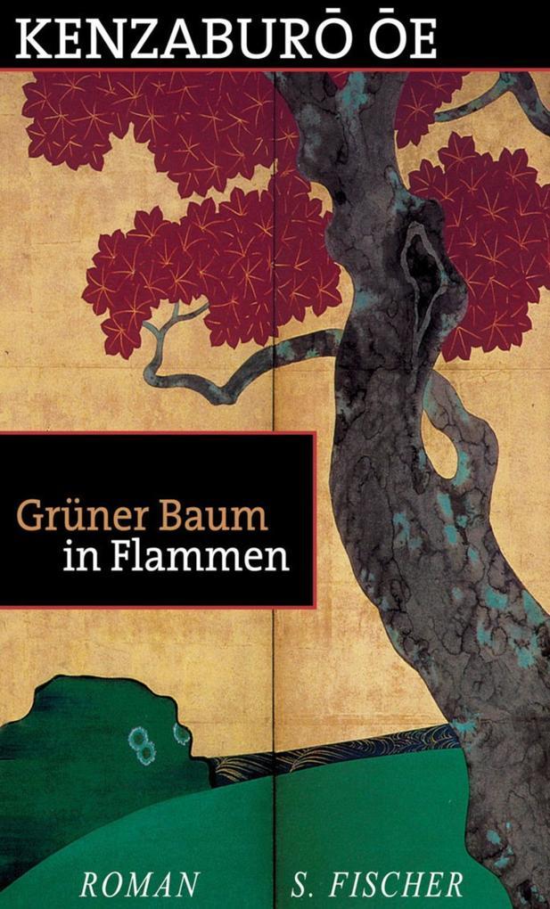 Grüner Baum in Flammen als Buch